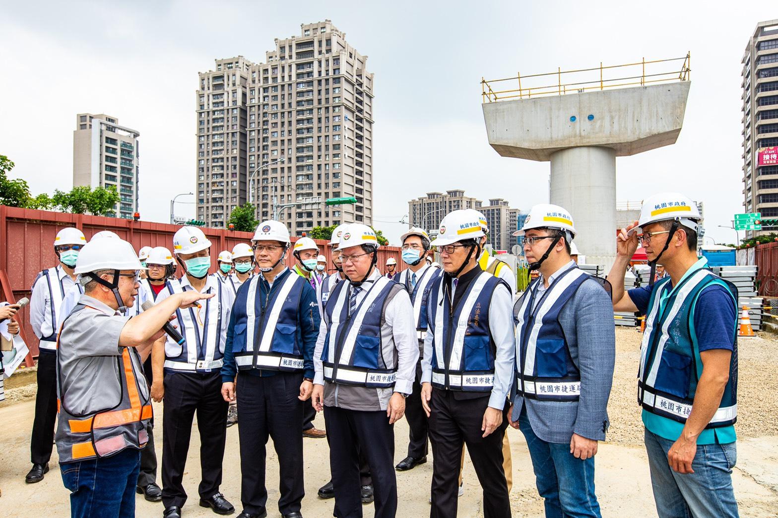捷運綠線高架段工程施工概況說明